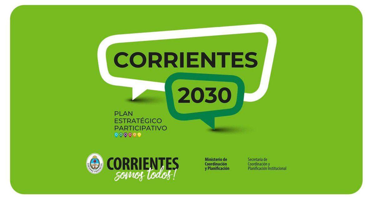 CORRIENTES: Plan Estratégico Participativo Corrientes 2030, la educación  como herramienta de inclusión y la importancia de los gobiernos locales. |  CCN25