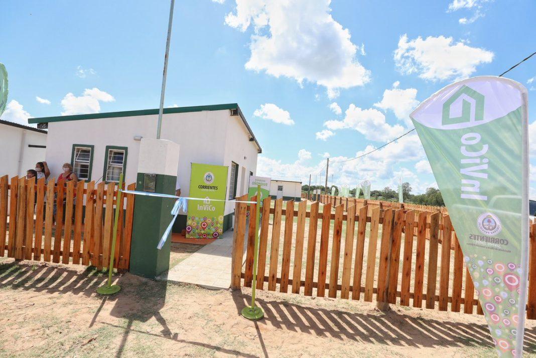 Programa Oñondivé solución habitacional en Corrientes
