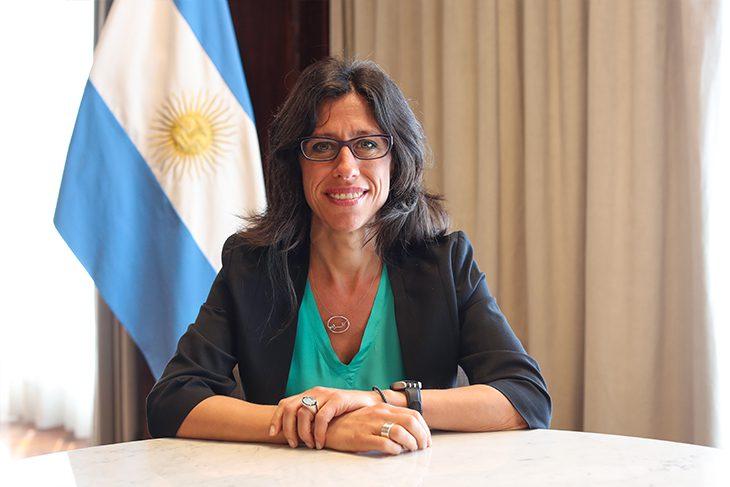Paula Español secretaria de Comercio Interior Nacional