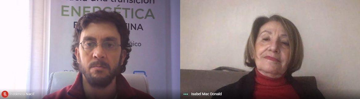 Ellos son Isabel Mac Donald y Federico Nacif, de la Fundación InnovaT